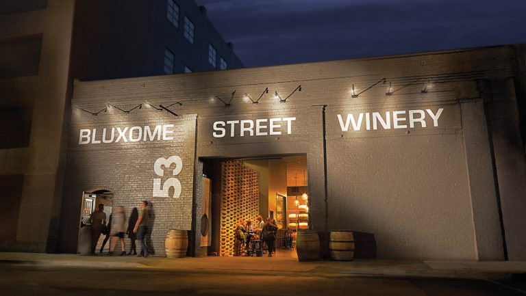 Bluxome Street Winery storefront