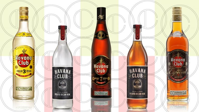 Havana Club Bottles