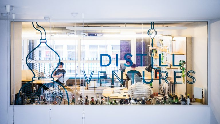 Picture of Distill Ventures office