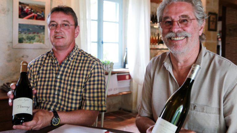 Francois Chidaine and Jacky Blot, Domaine de la Taille Aux