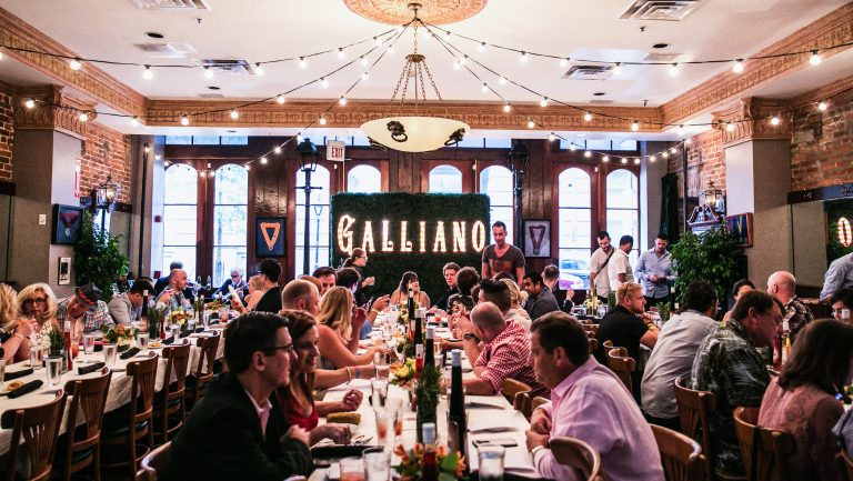 Galliano Famiglia Dinner, Tales of The Cocktail.