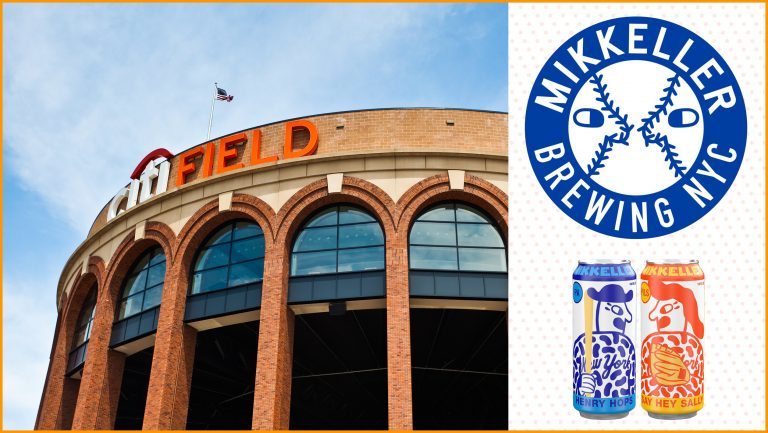 Mikkeller NYC and Citi Field collage
