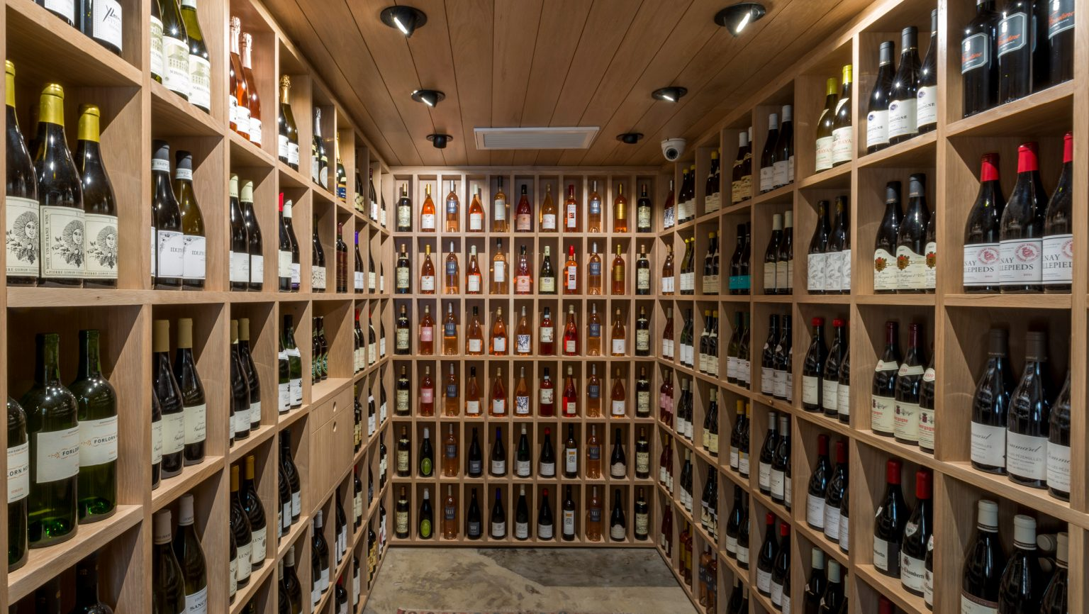 interior of Helen's Wines