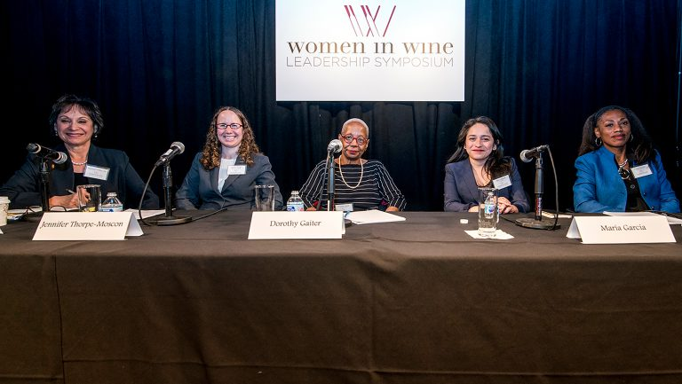 Women in Wine Leadership panel