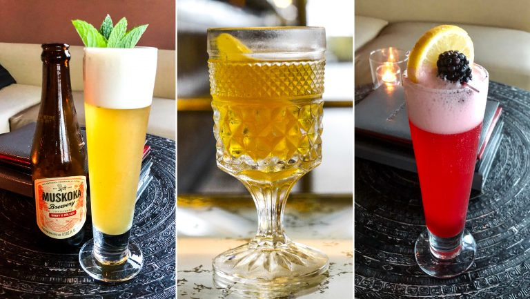 A compilation of beer-cocktails