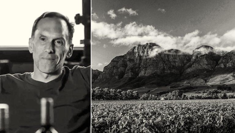 James Clark and Rupert & Rothschild vineyard