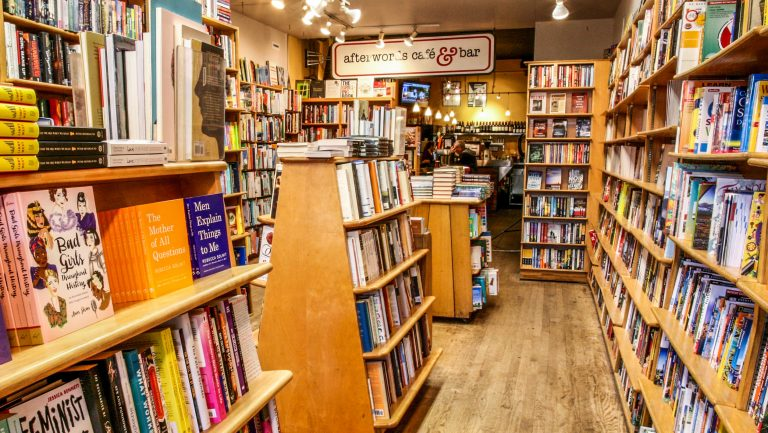Interior of Kramerbooks