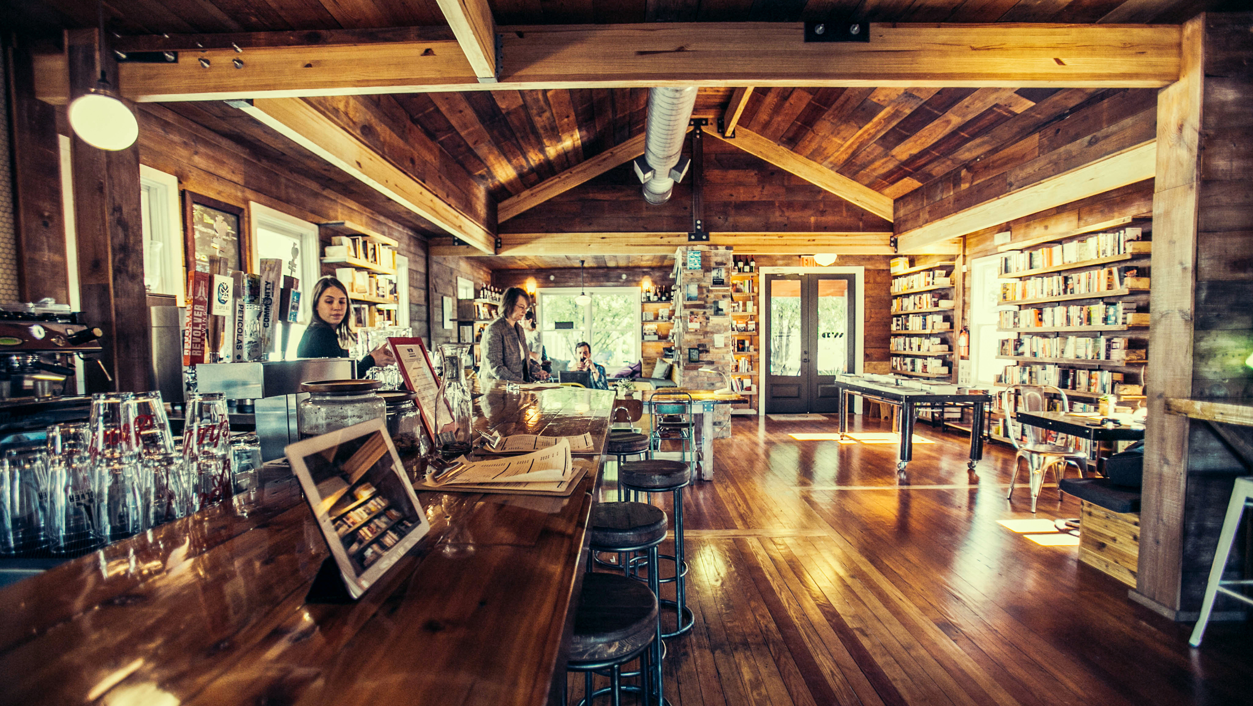 A Look Inside Bookstore Bars | SevenFifty Daily