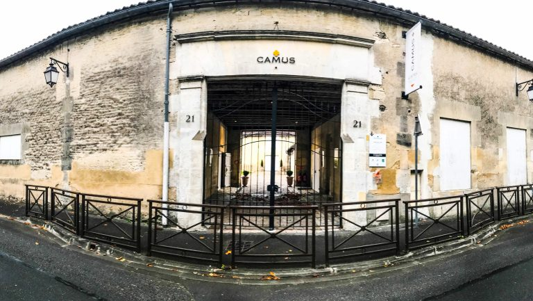 Camus building entrance