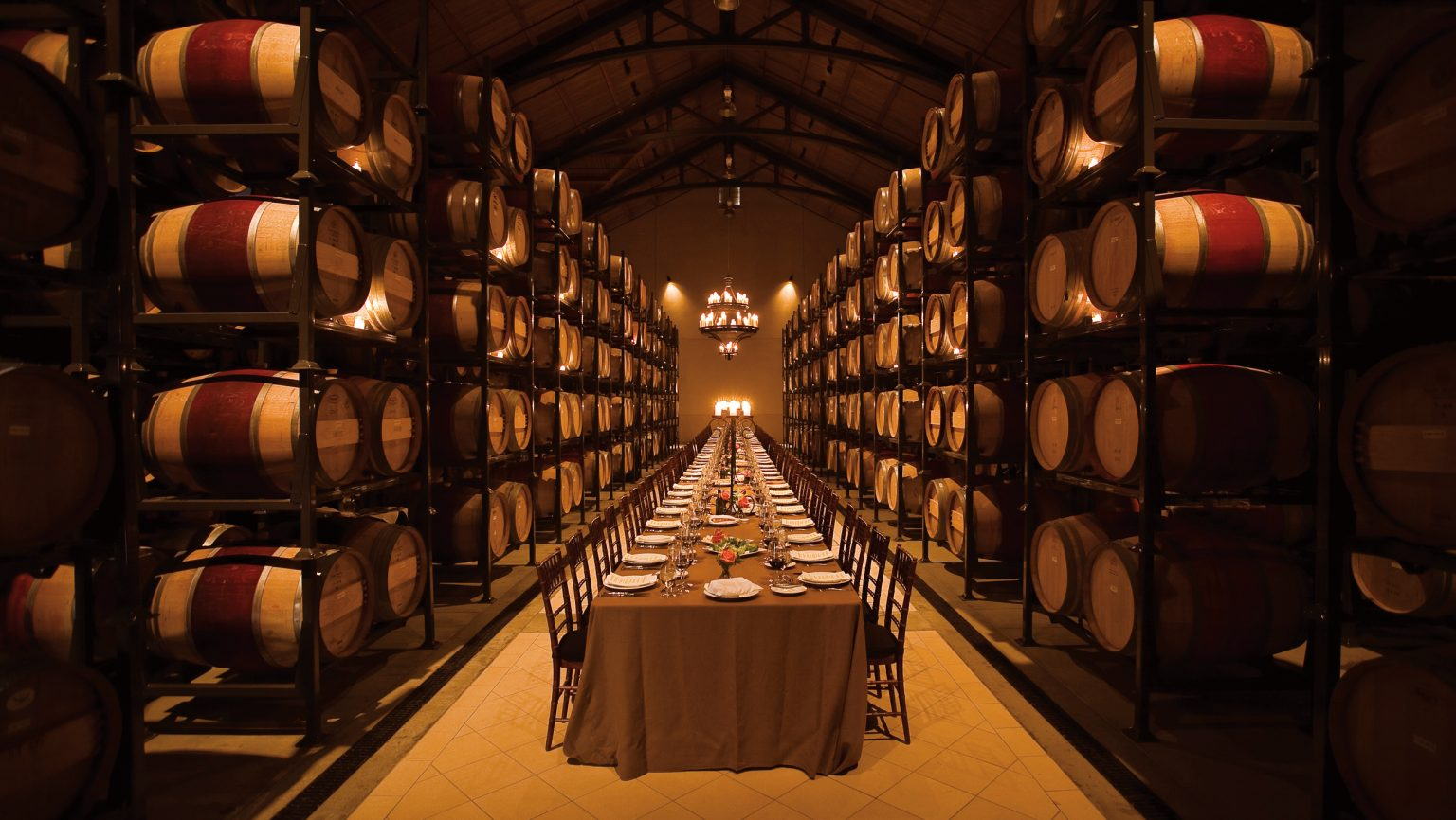 Barrel Room at Trinchero