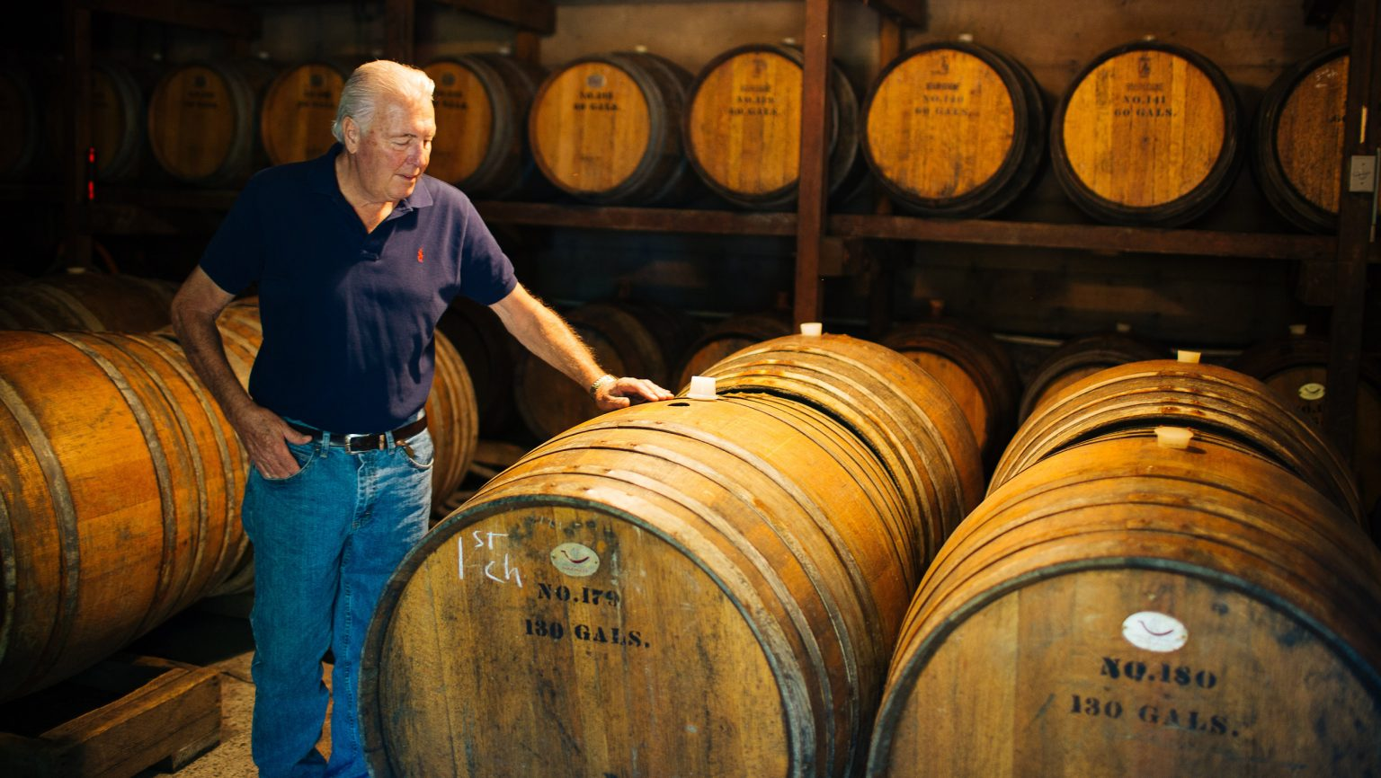 Old Oak Barrels Are Well Worn And Well Loved By Winemakers