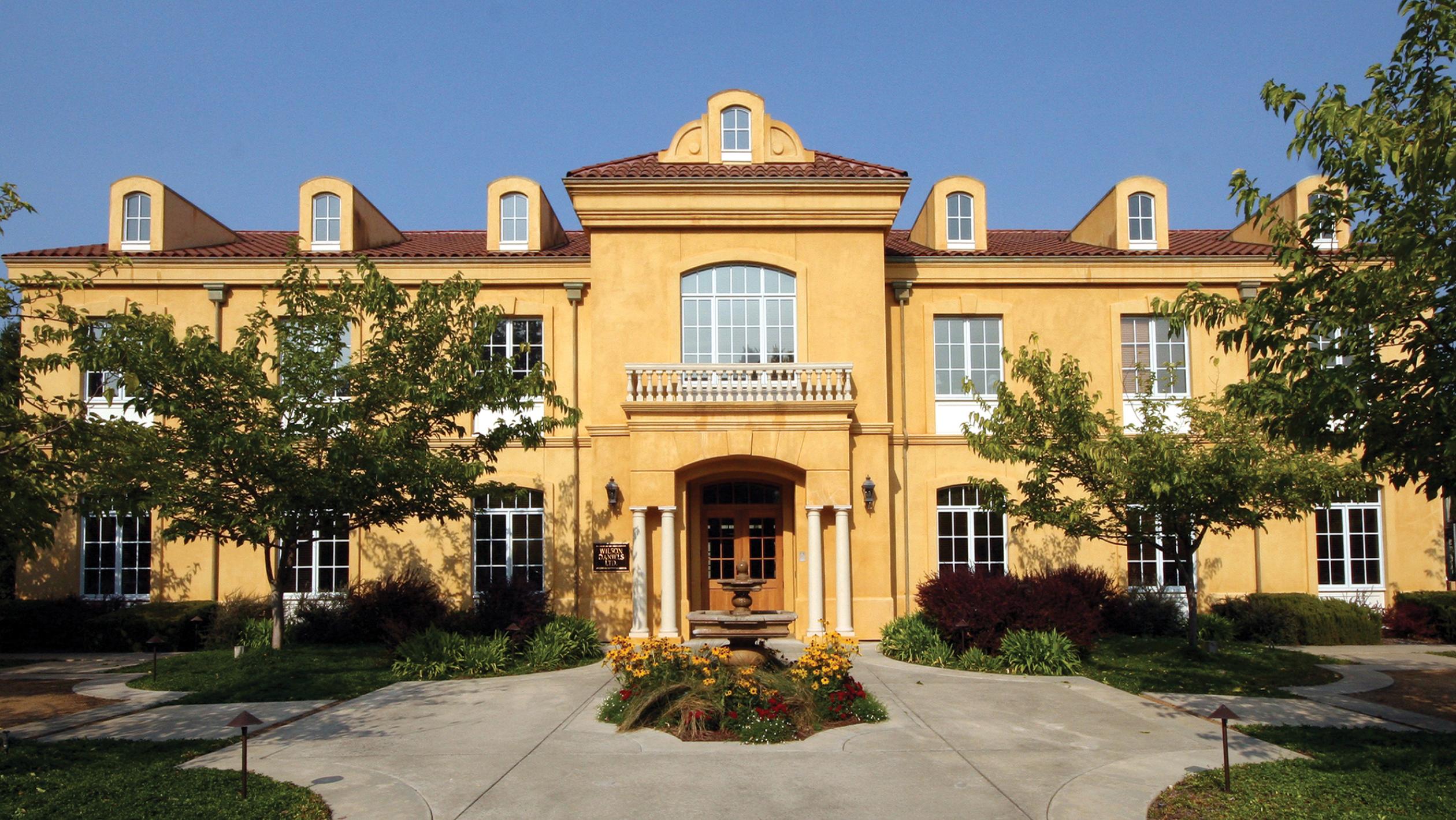 Wilson Daniels Headquarters In Napa California Photo Courtesy Of