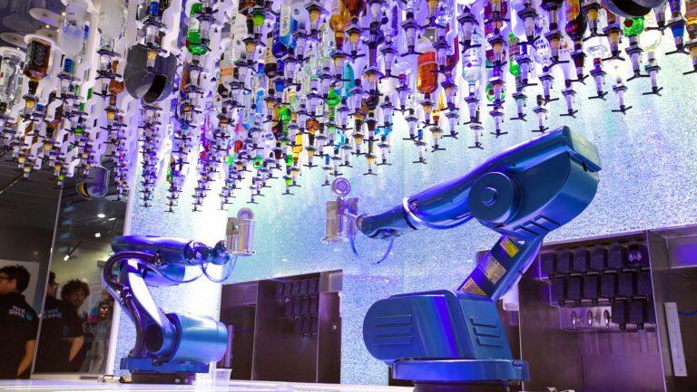 Royal Carribbean's Bionic Bar