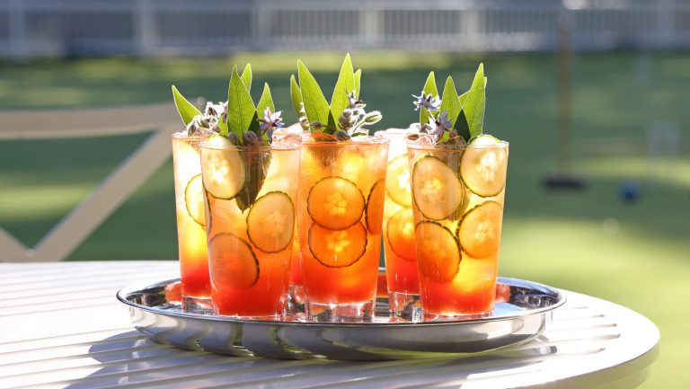 Pimms Cup.