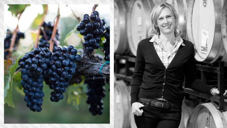 Emily Pelton and Veritas Vineyards