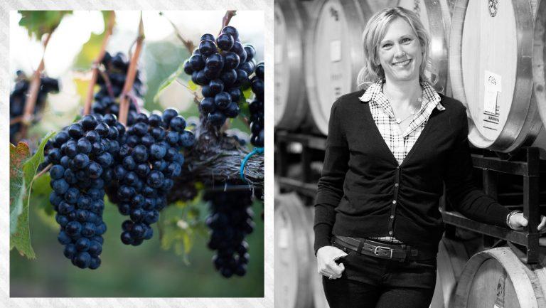 Emily Pelton and Veritas Vineyards