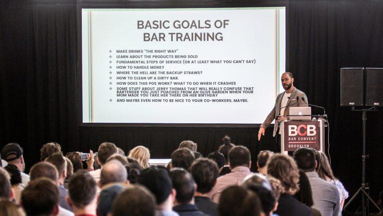Training Bartenders