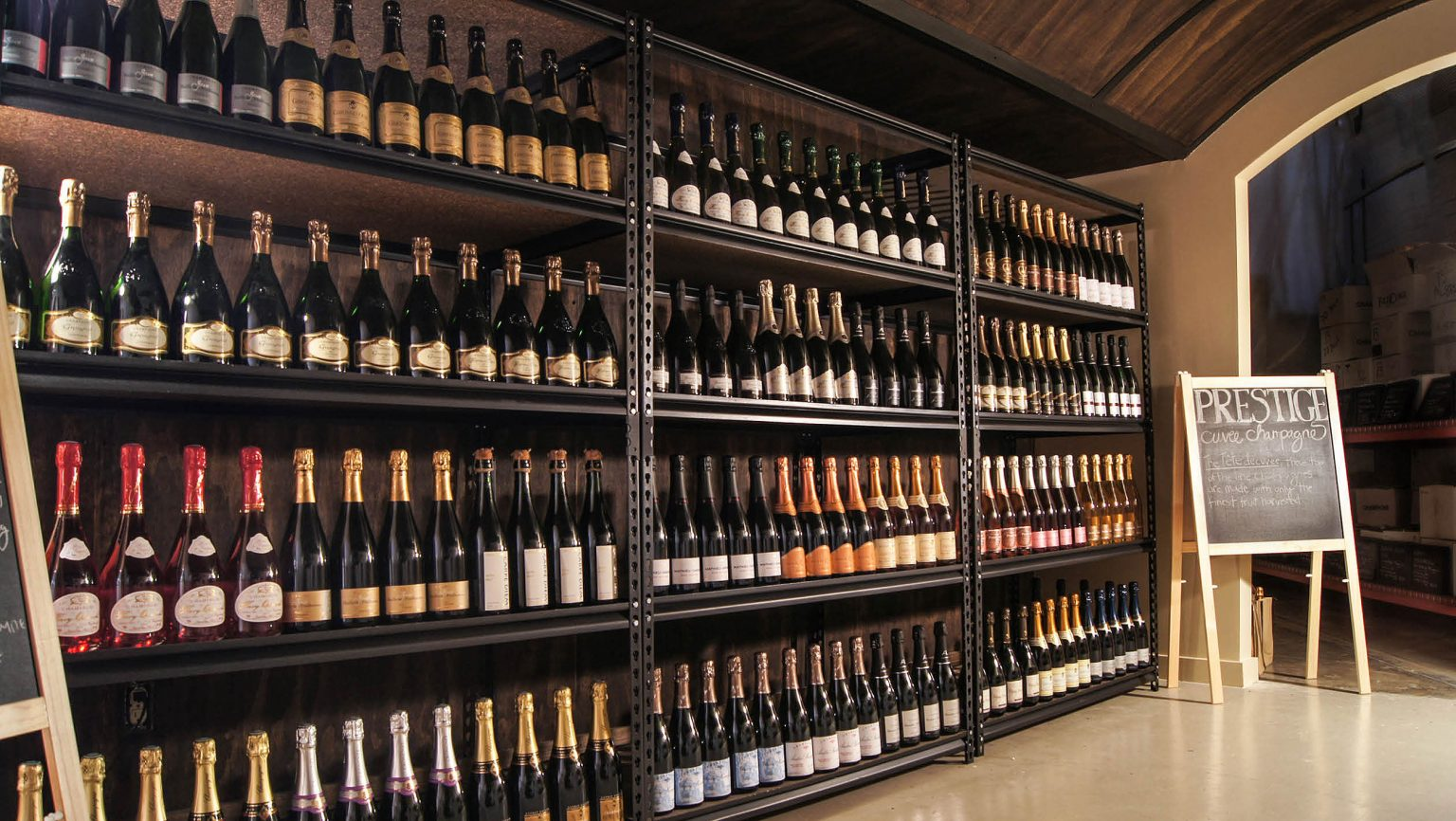 Fat Cork wine selection