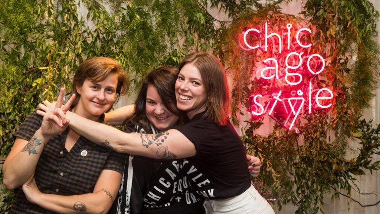 Caitlin Laman, Sharon Bronstein, and Shelby Allison.
