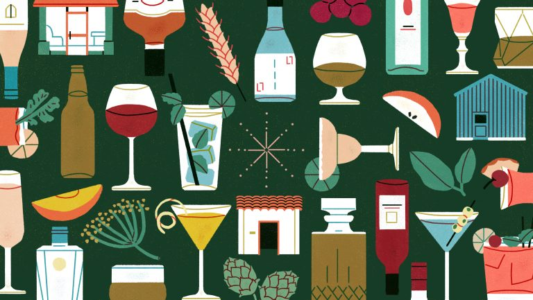 drinks illustration