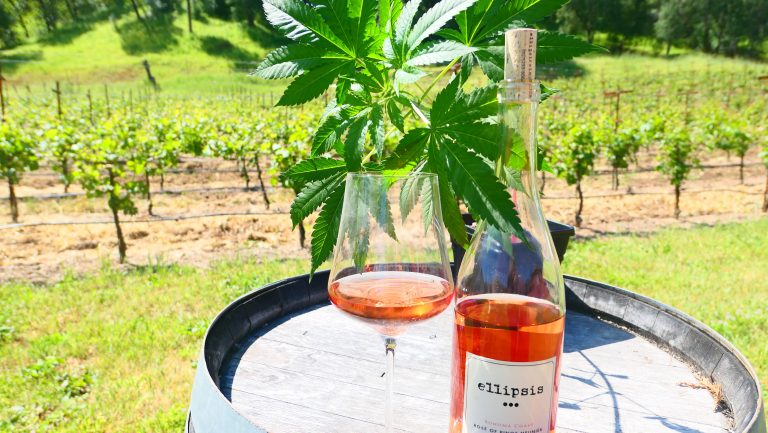 Jamie Evans' wine and weed pairing