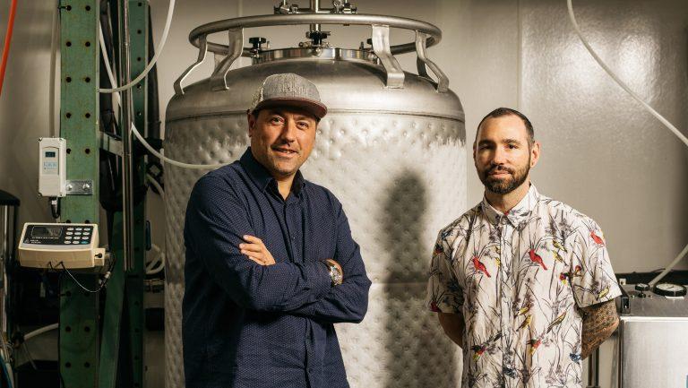 Giancarlo Mancino and Miles Thomas