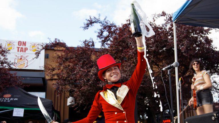 Portland celebrating Bastille Day