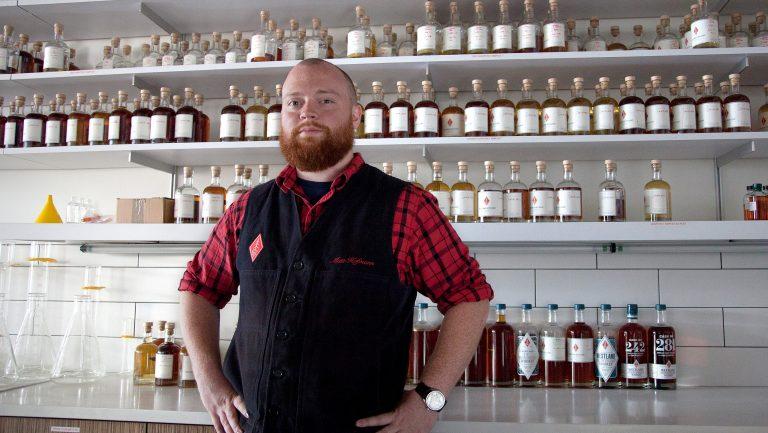 Matt Hofmann, Westland's master distiller