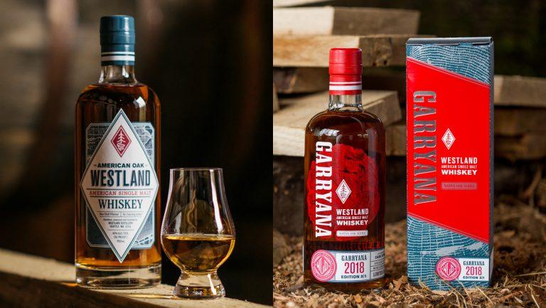 Westland's Single Malt and Garryana whiskeys