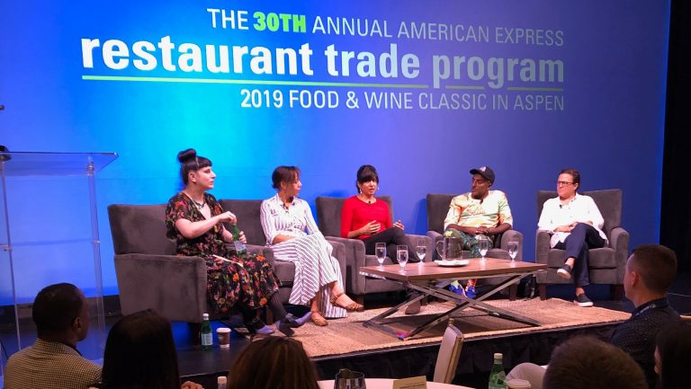 Food & Wine Classic panel Inclusion: Hospitality's Moment to Lead
