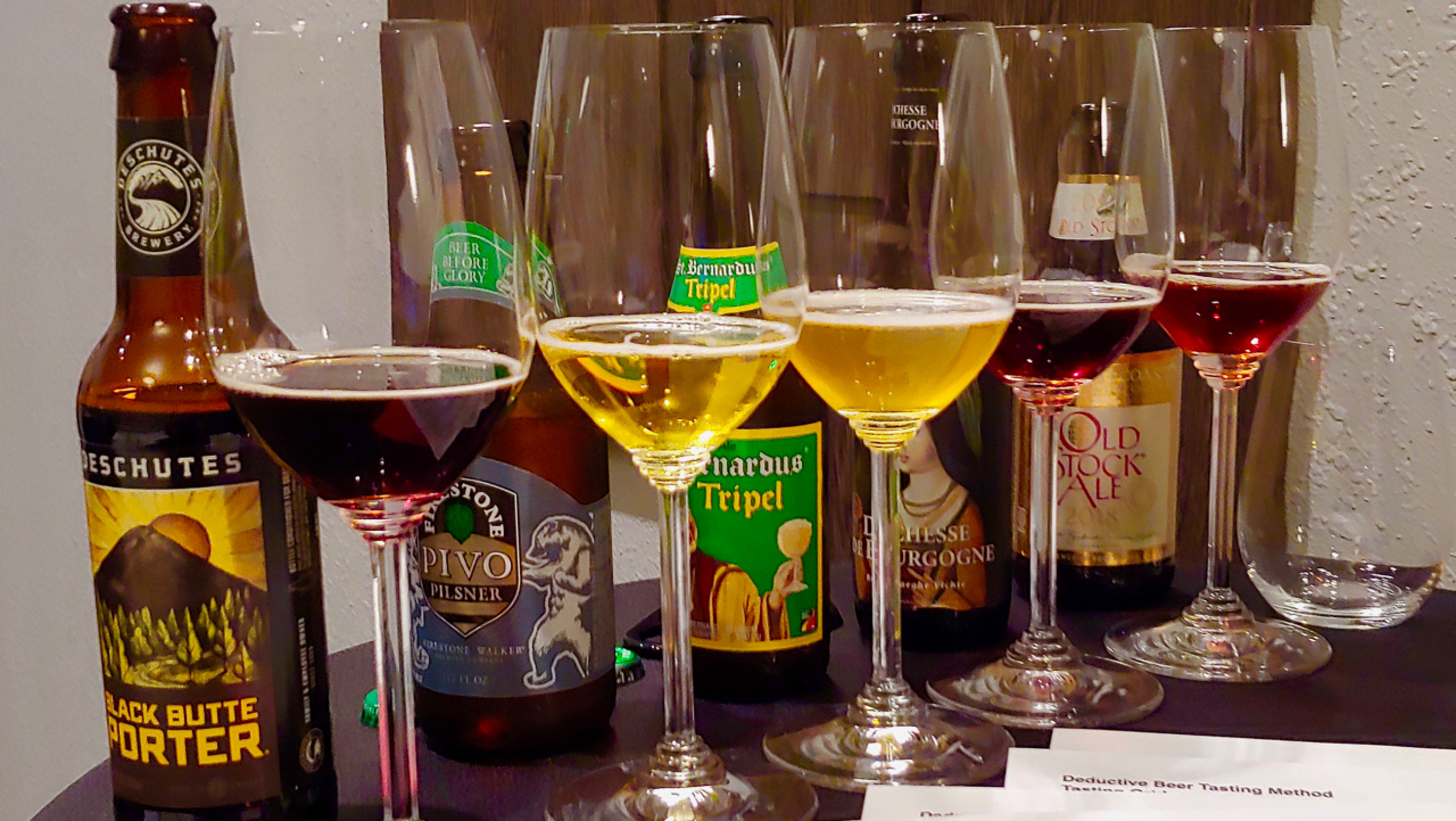 How To Blind Taste Beer Sevenfifty Daily