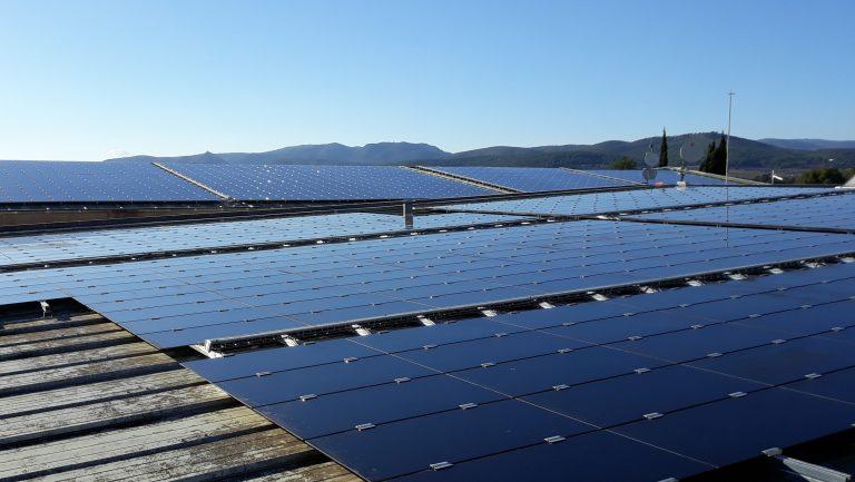 voltaic panels